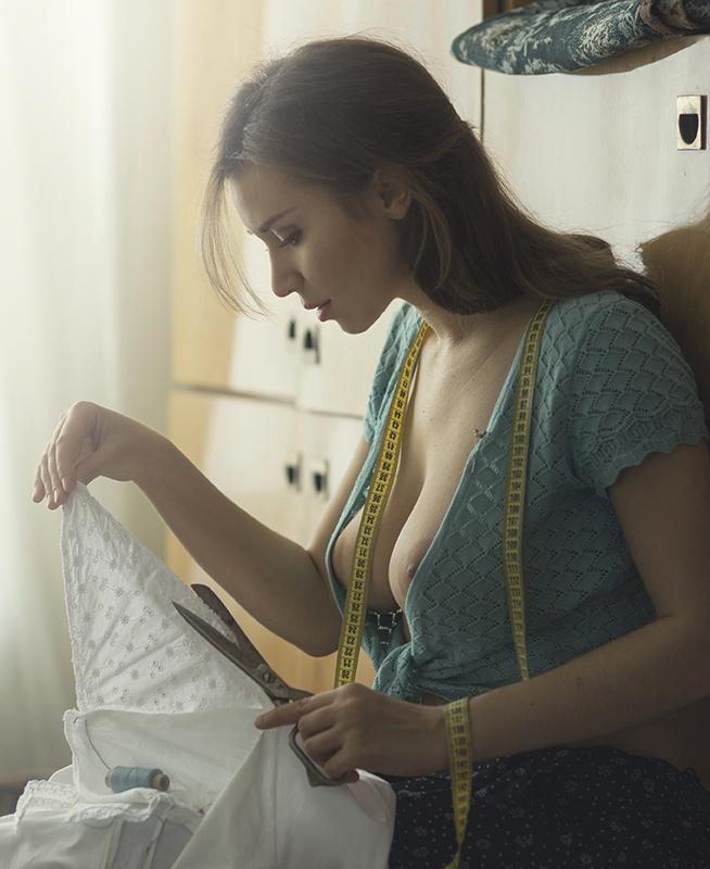 Чтоб сарафанчик сидел / фото Давид Д