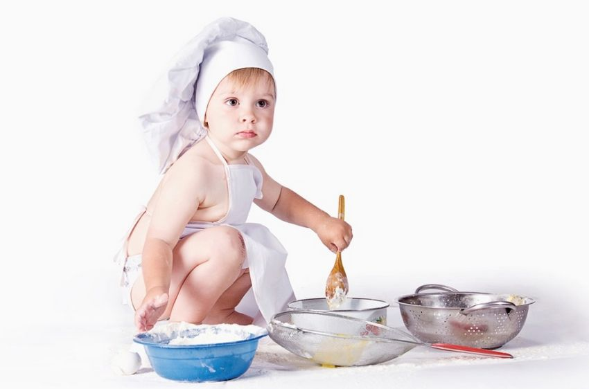 Чем может ребёнок в возрасте от 2 до 12 лет помочь вам на кухне
