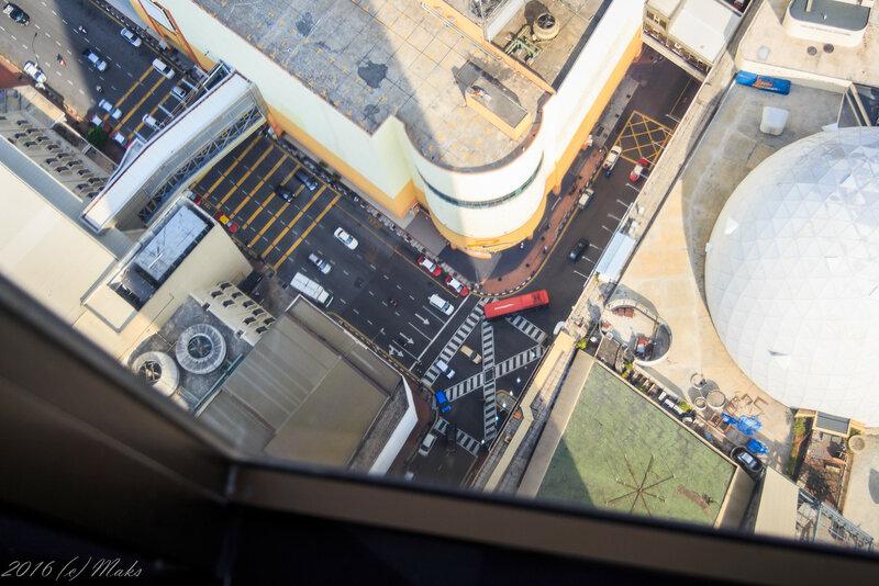 Джорджтаун с 59 этажа башни Комтар