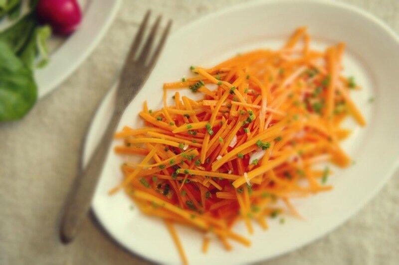Капуста с сельдереем и морковью