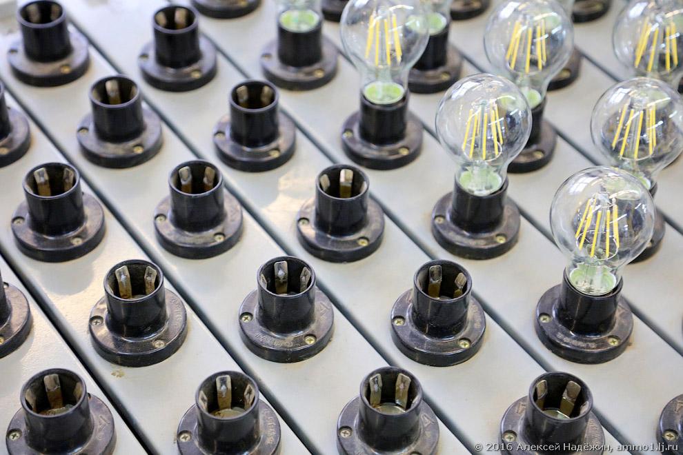 20. Последняя стадия производства светодиодных ламп для дома — упаковка.
