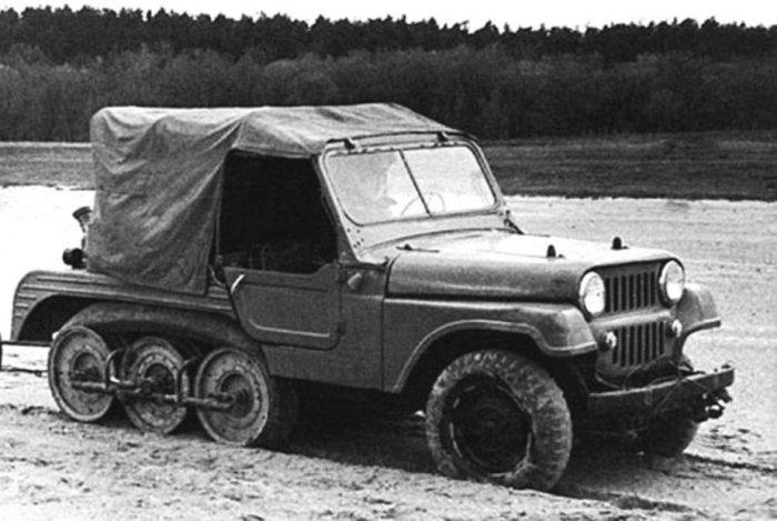 НАМИ С-3 на базе