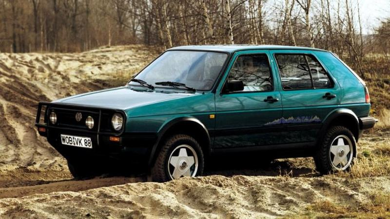 Volkswagen Golf Montana '1989 За основу взяли полноприводный, но все же асфальтовый хэтчбек Go