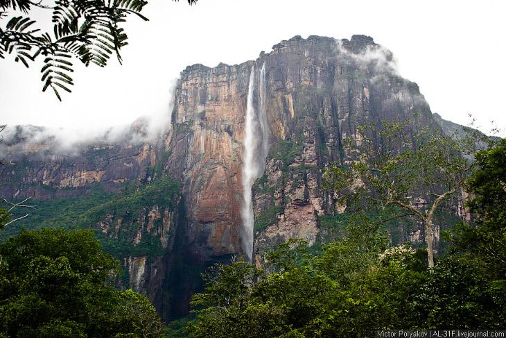 Анхель — самый высокий водопад в мире (30 фото)