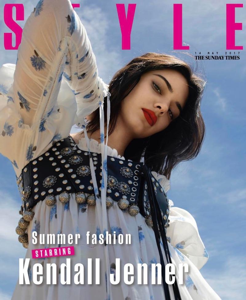 Кендалл Дженнер в Sunday Times Style
