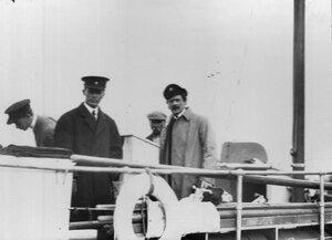 Американские моряки-яхтсмены