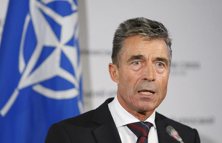 Прошлый генеральный секретарь НАТО Расмуссен: миру нужен жандарм влице США
