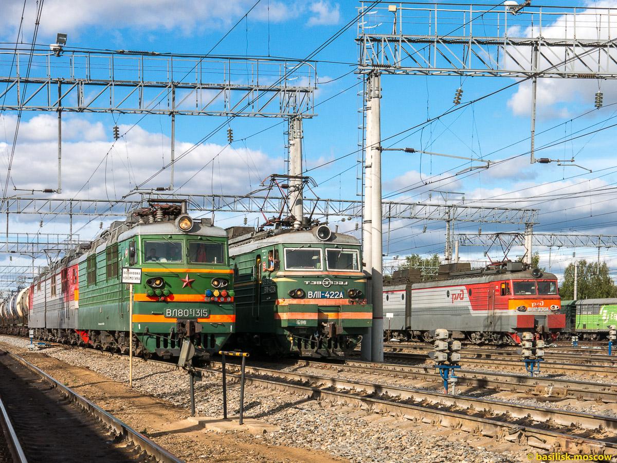 Станция Данилов. Август 2016