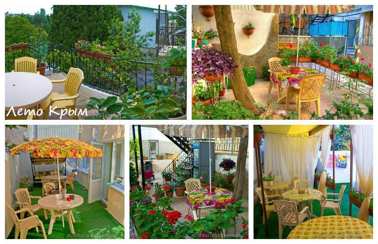Отдых и цены в Алуште Гостевой дом Берекет цены на жилье без посредников Крым