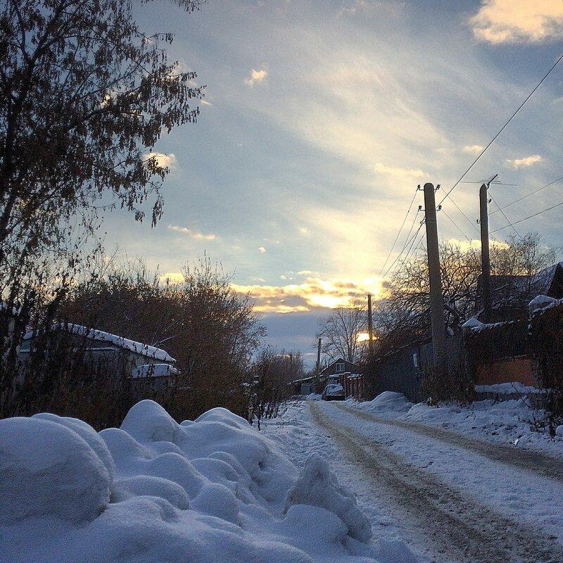 Печерская зимой 17-го года