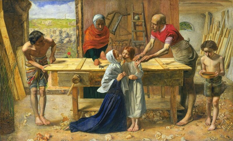 5 John_Everett_Millais_-_Christ_in_the_House_of_His_Parents_(`The_Carpenter's_Shop')_-_Google_Art_Project.jpg