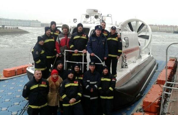 Сербия, спасатели, Петербург