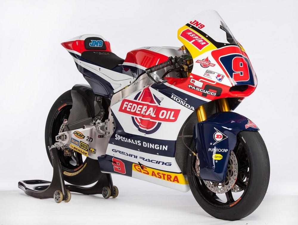 Презентация команды Federal Oil Gresini Moto2
