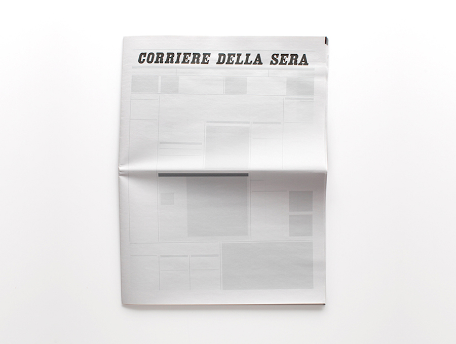 Empty Newspapers by Sideline Collective