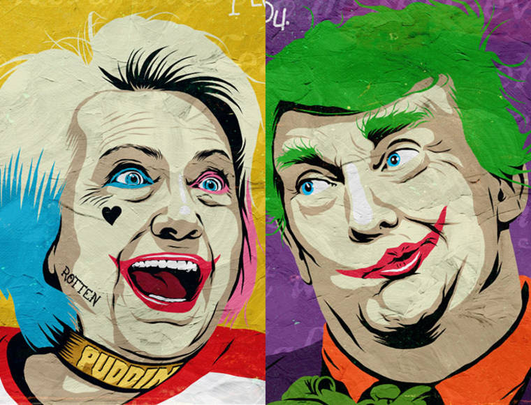 Trump X Hillary – Quand la politique rencontre la pop culture (11 pics)