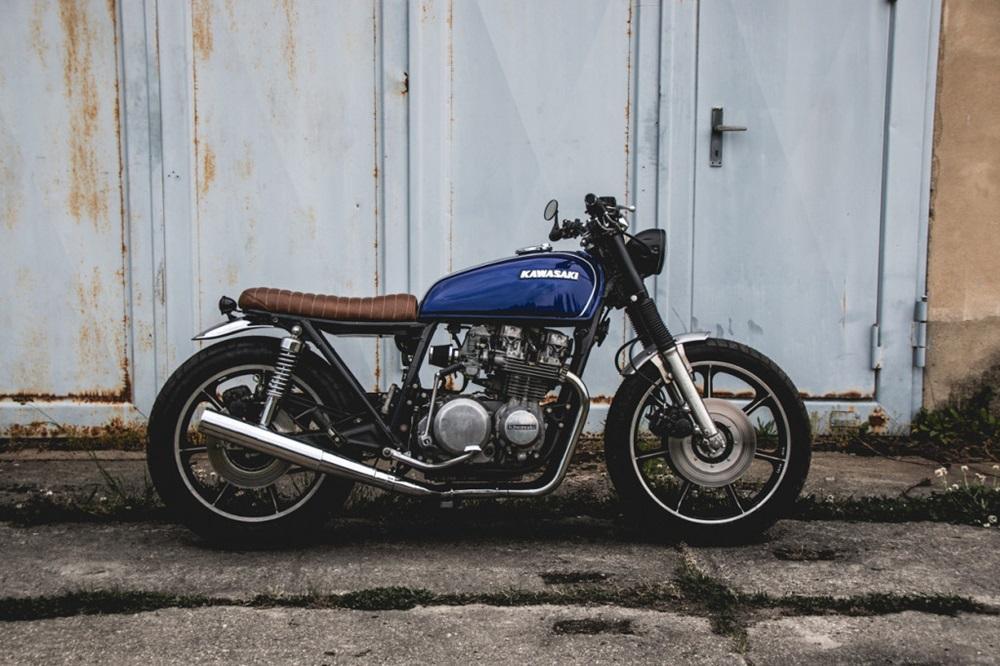 Kaspeed Custom Motorcycles: брэт-кастом Kawasaki KZ650