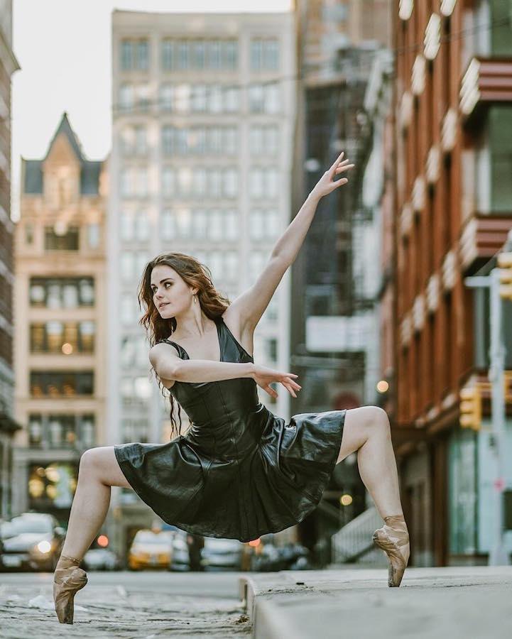 Грация и эмоции от артистов балета Нью-Йорка