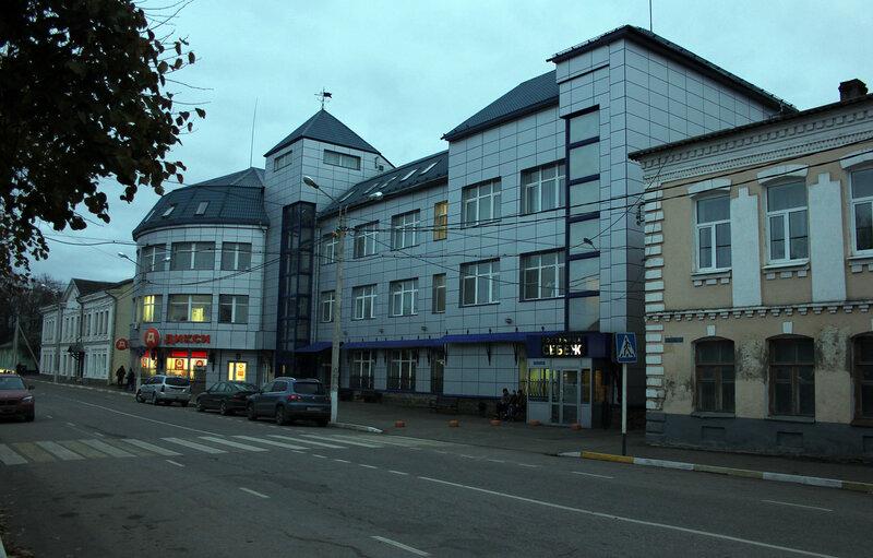 Гостиница и ресторна в городе Себеж, Псковская область