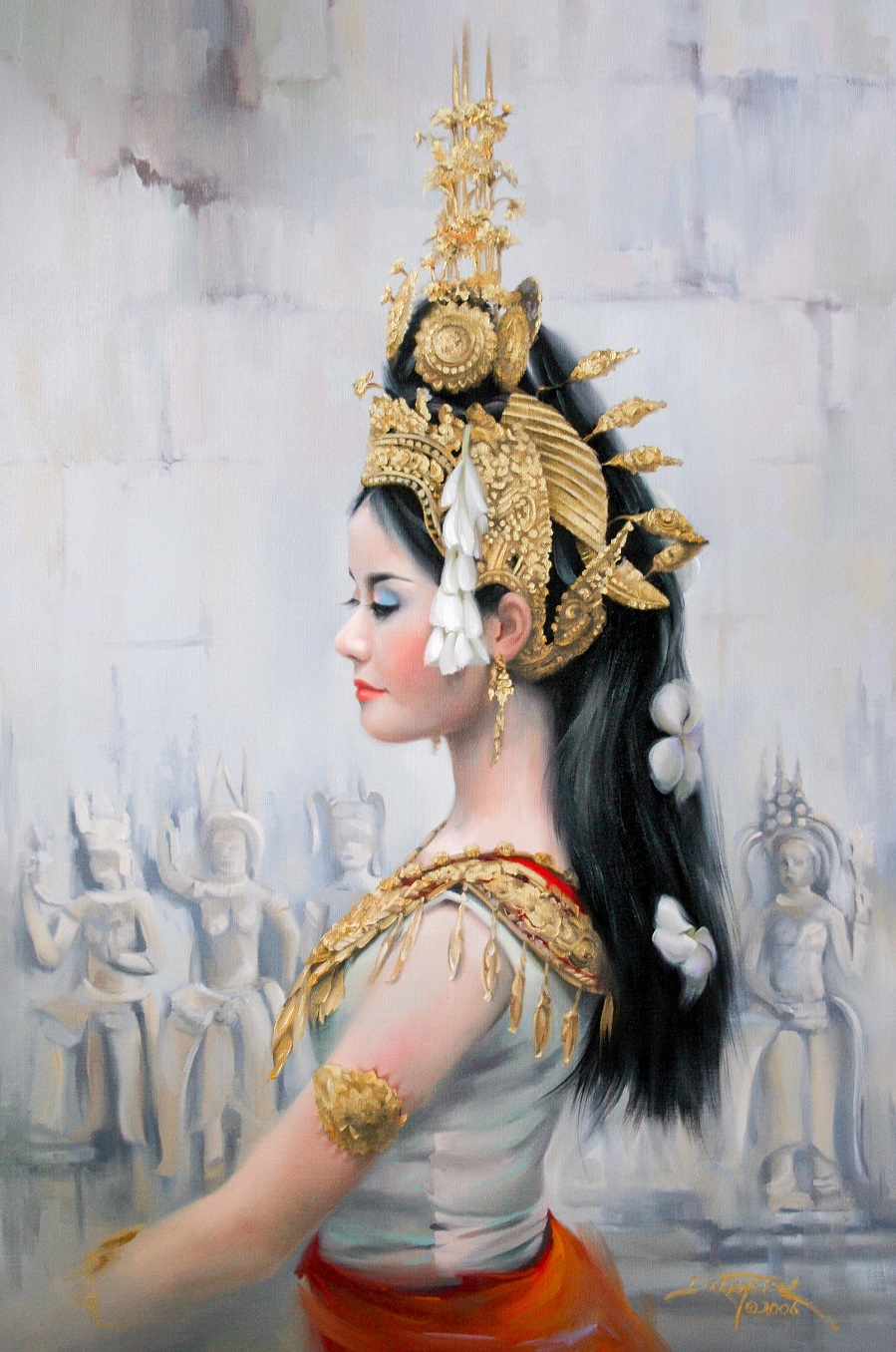 khmer apsara pictures - HD899×1356
