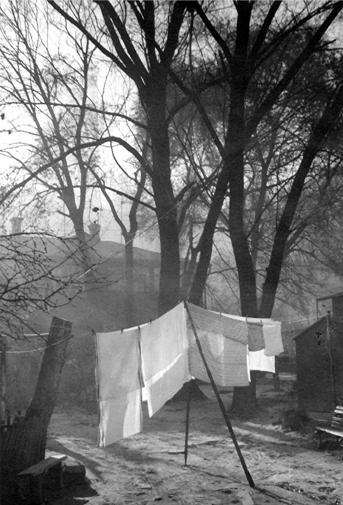 1977. Во дворе