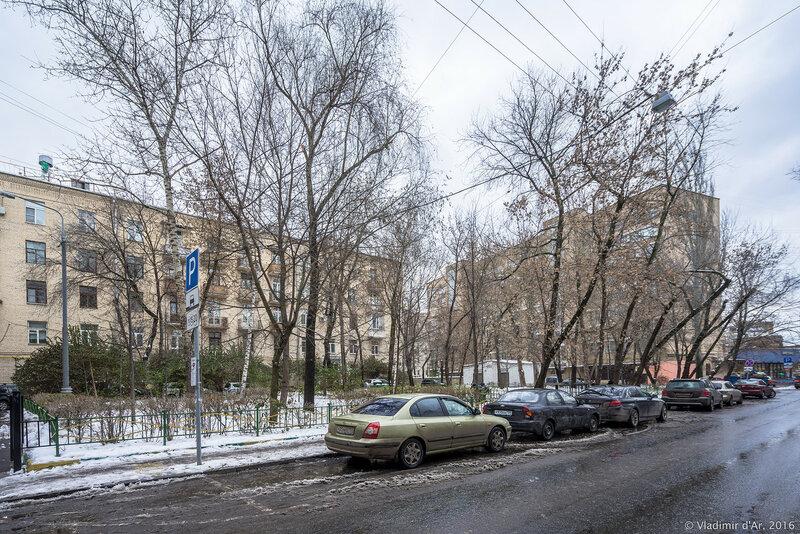 Дом Булгакова в Малом Левшинском