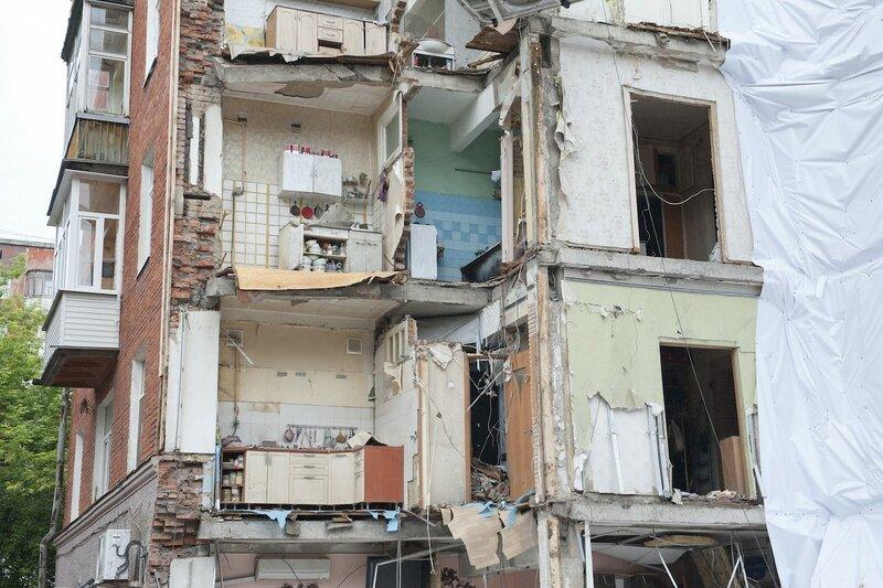 Куйбышева 103 Пермь рухнувший дом после уборки мусора.jpeg