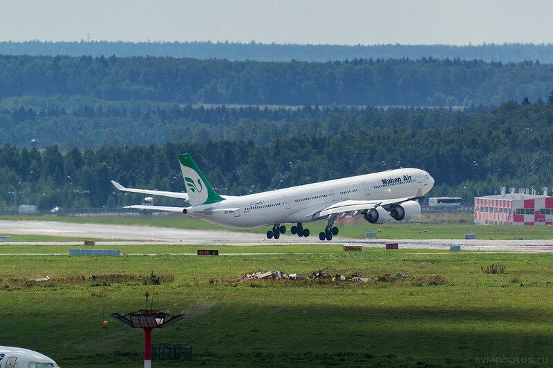 Airbus A340-642 (RP-MMR) Mahan Air D805448