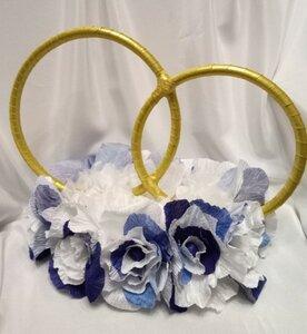 Свадебные кольца на машину. Мастер-класс  0_1324f2_6a16a7be_M