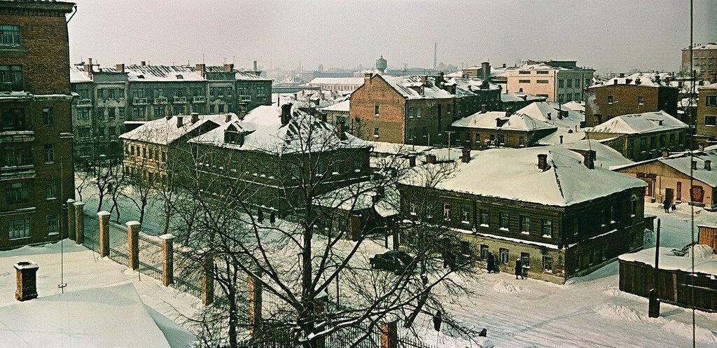 1950 1-й Лазаревский переулок. Выставлена Вл. Афанасьевым в группе Марьина роща3.jpg