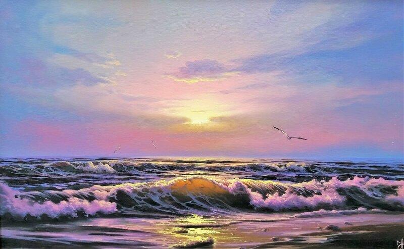Волны Чёрного моря ...