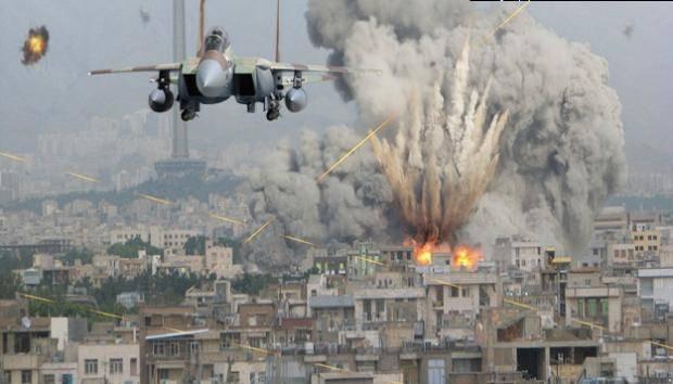 """Советники Обамы требуют ударить авиацией по армии Асада и """"їхтамнєтах"""""""