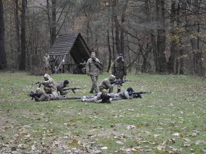 В урочище Вовчак на Волыни стартовали воспитательные лагеря