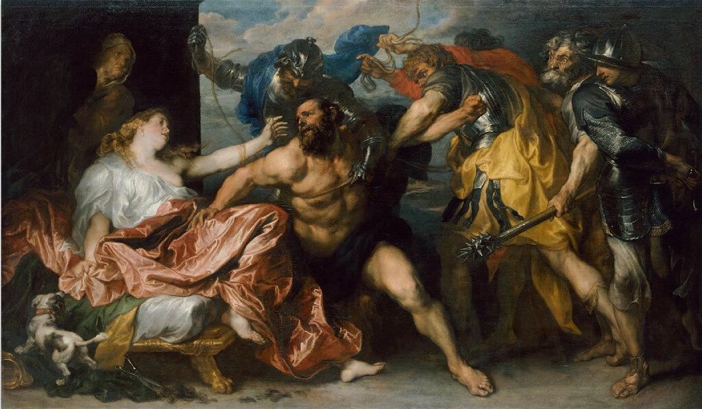 3. Sansone e Dalila, Antoon van Dyck.jpg
