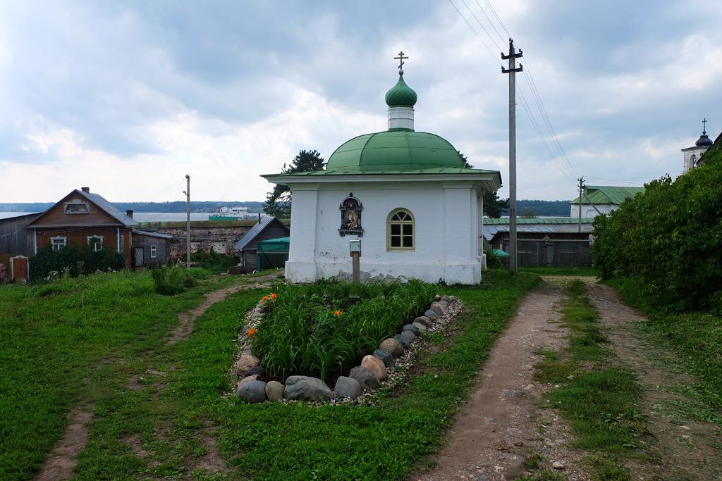 Горицкий Воскресенский монастырь в Вологодской области, церковь
