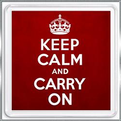 Магнит сувенирный Keep Calm And Carry On