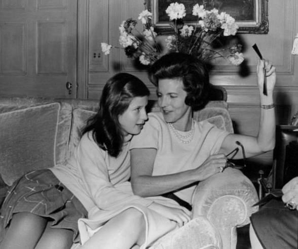 Лилиан и Мария Эсмеральда. 1960-е гг.