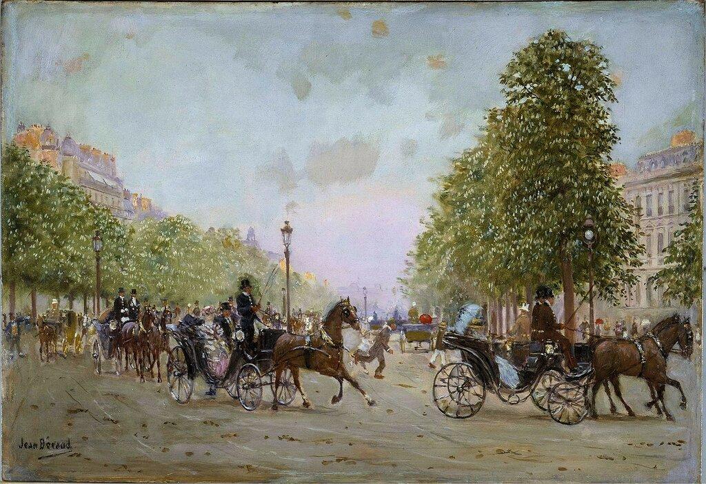 Прогулка по Елисейским полям (Париж, музей Карневале).jpg