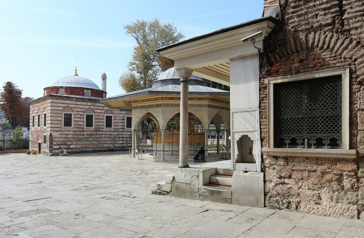 Istanbul. Hagia Sophia Cathedral. The fountain of ablutions