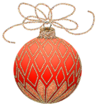 Christmas_Orange_and_Gold_Ornament_Clipart.png