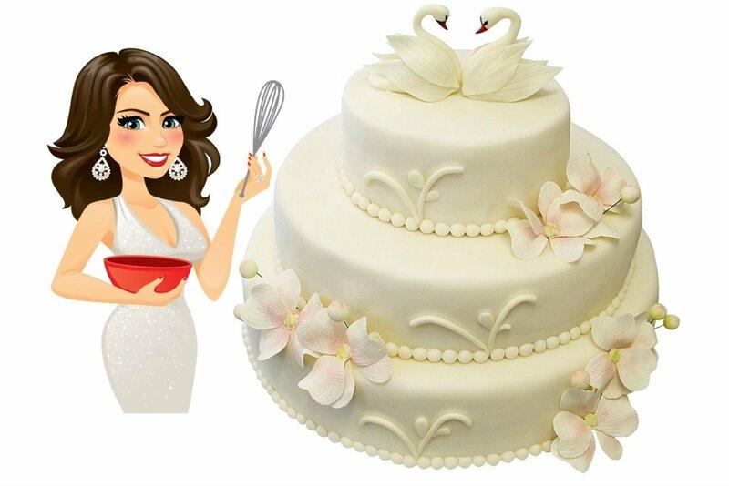 Торт «Лебединая верность»