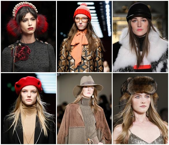Женские головные уборы осень-зима: модные тенденции 2017 года (1 фото)