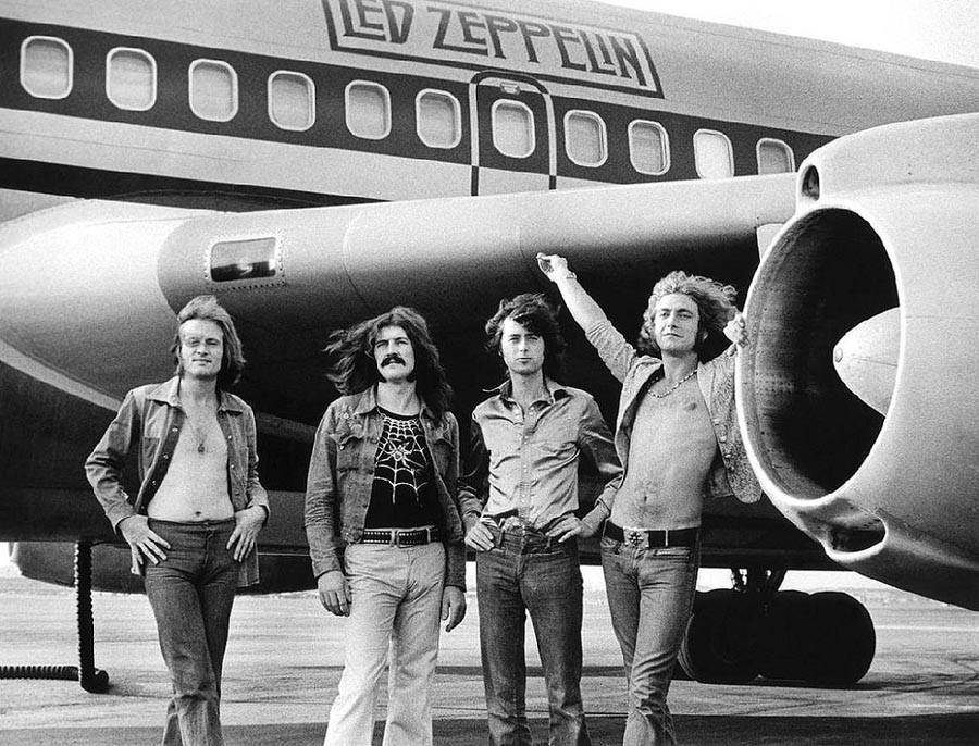 17. Led Zeppelin, 1973.