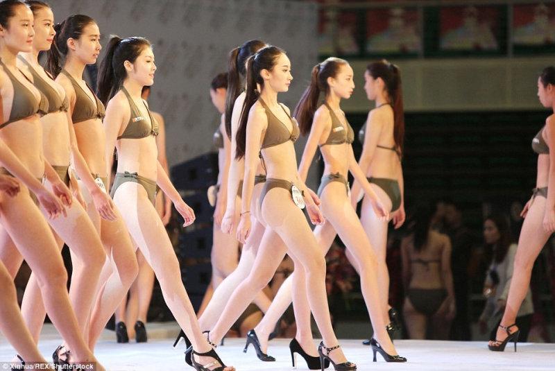 Кастинг проходил под руководством модельного агентства, которое и предложило девушкам поч
