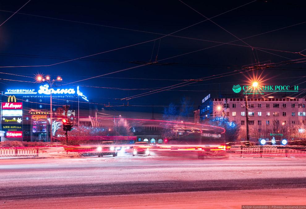3. Еще в городе действует самая северная троллейбусная система в мире. Вообще все, что только м