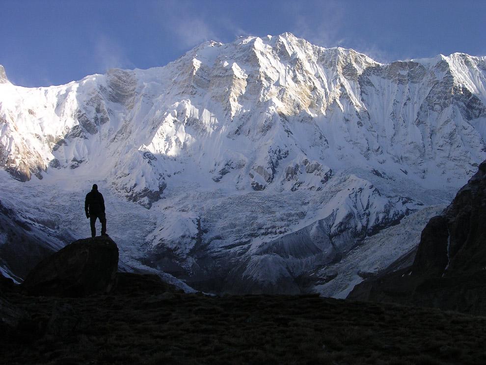 № 9. Нангапарбат (Гималаи) — 8125 метров Нангапарбат — одна из самых опасных для восхождения го