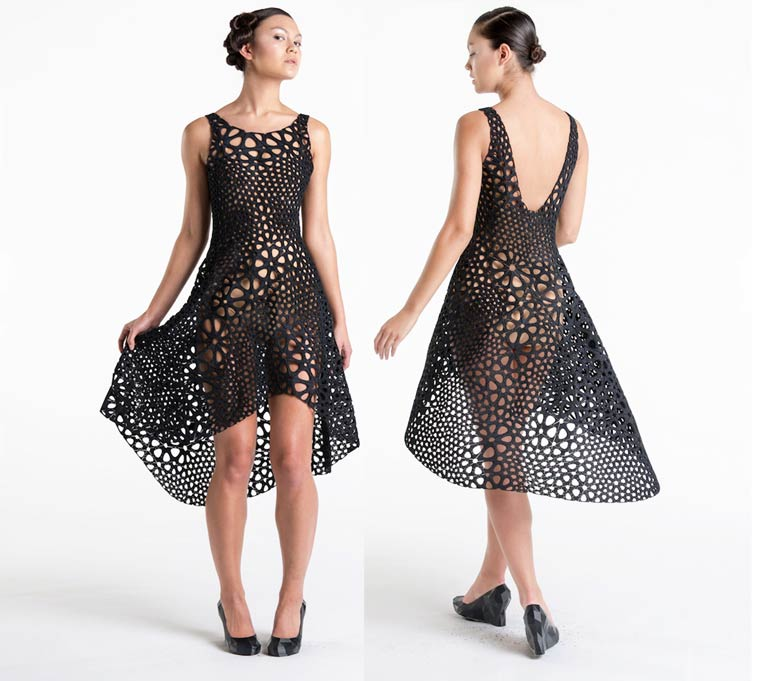 4D Dress - A beautiful 3D printed dress