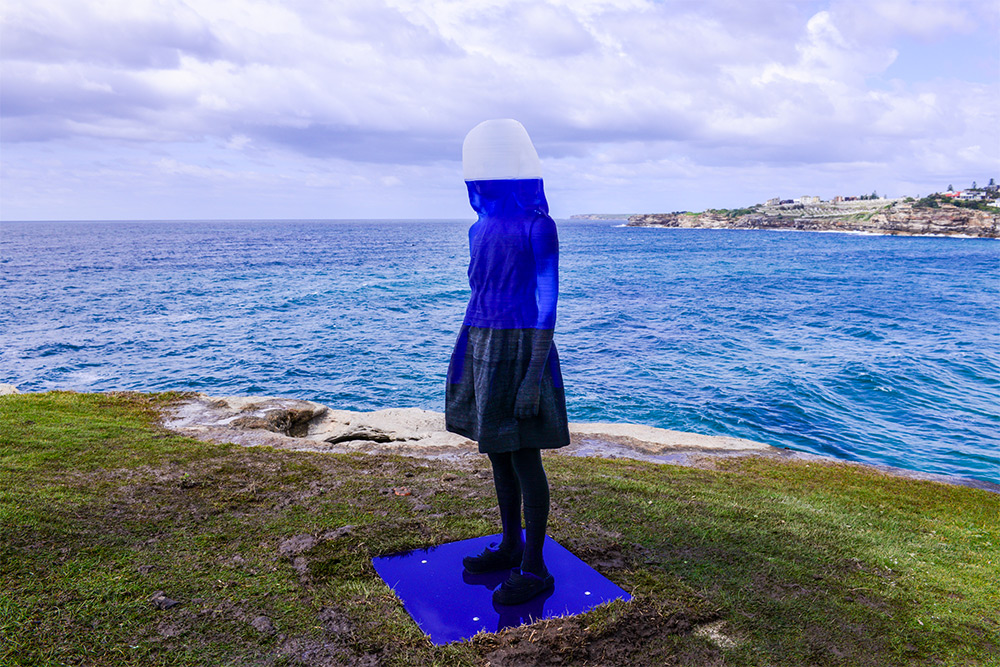 Alessandra Rossi, Untitled Coral. Sculpture by the Sea, Bondi 2016. Photo by Clyde Yee.