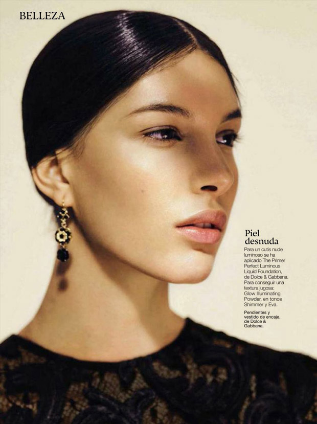 Kate King for Glamour Spain by Sergi Pons