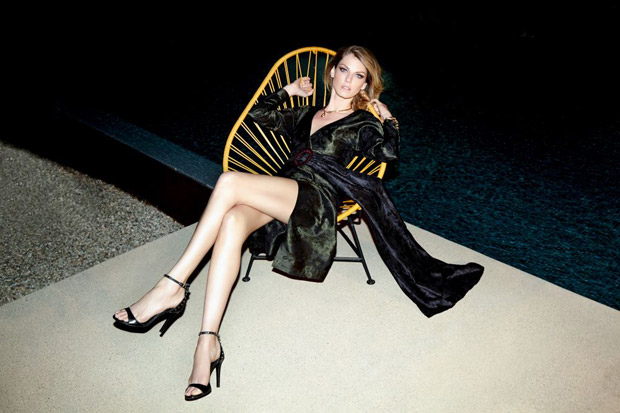 Angela Lindvall Stuns for the Pages of Evening Standard Magazine