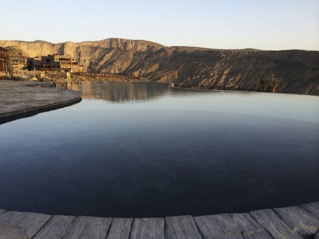 Alila Jabal Akhdar Hotel in the Emirates
